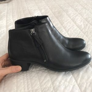 Ecco Leather Booties